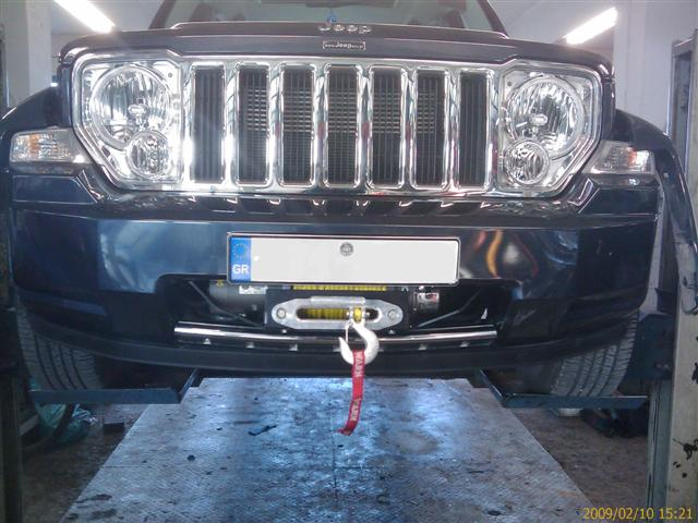 Jeep 2008 Liberty LOST JEEPS • View topic - Detours' Backbone Bumper Winch ...